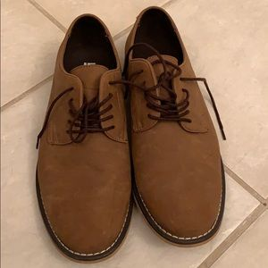 JF J.Ferrar suede dress shoes